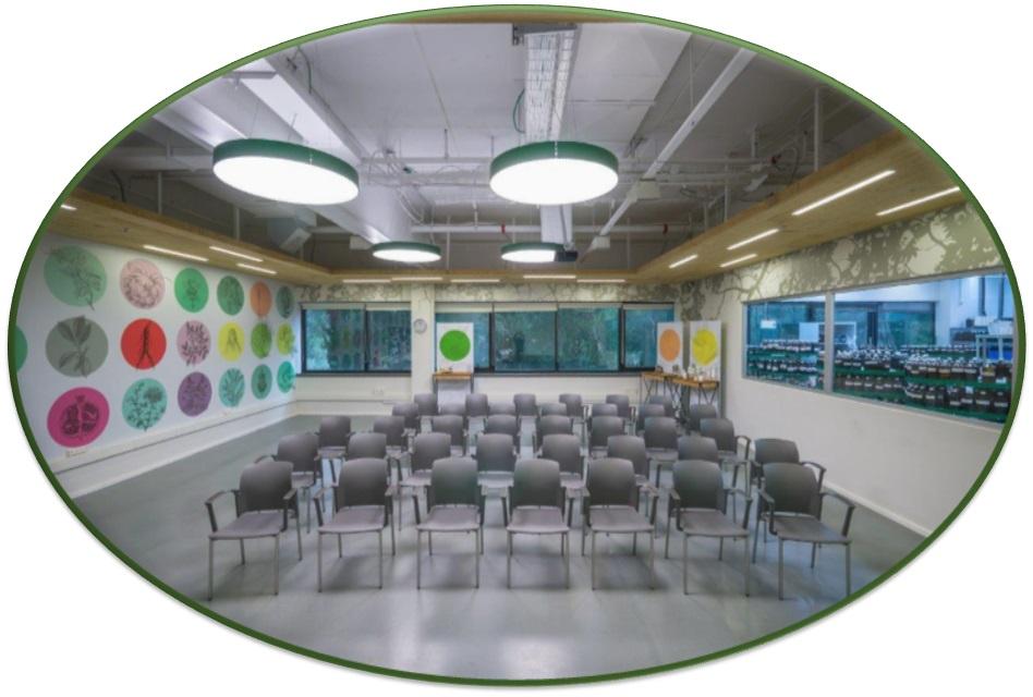 מרכז המבקרים - אולם הכנסים ברא