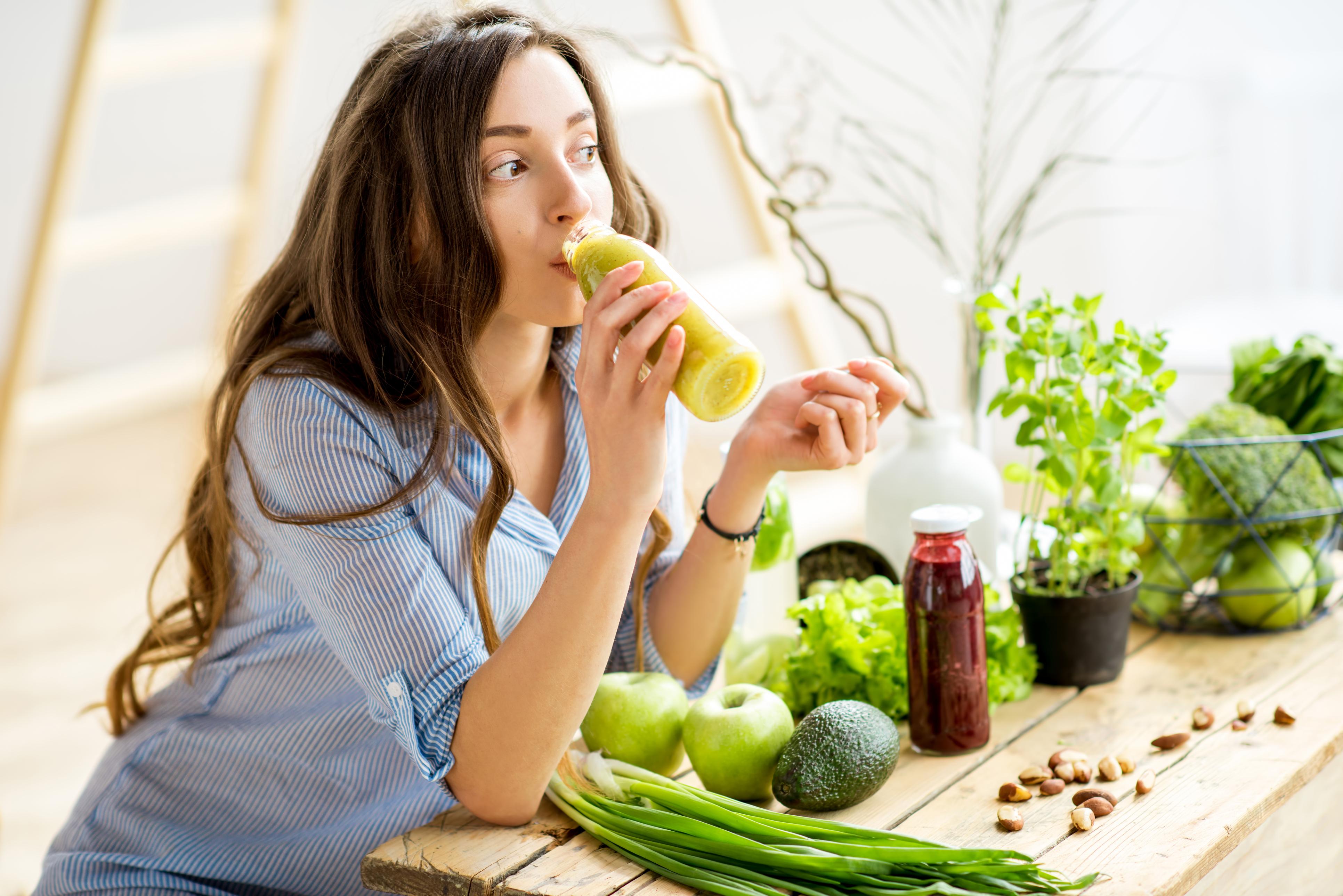 תהליך ניקוי בעזרת תזונה וצמחי מרפא